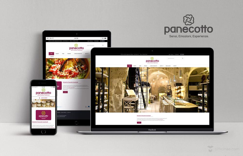 Panecotto officinae agenzia lean digital marketing comunicazione matera milano sito web responsive