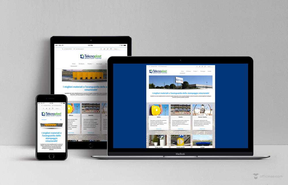 Tekcnoplast officinae agenzia lean digital marketing comunicazione matera milano sito web responsive