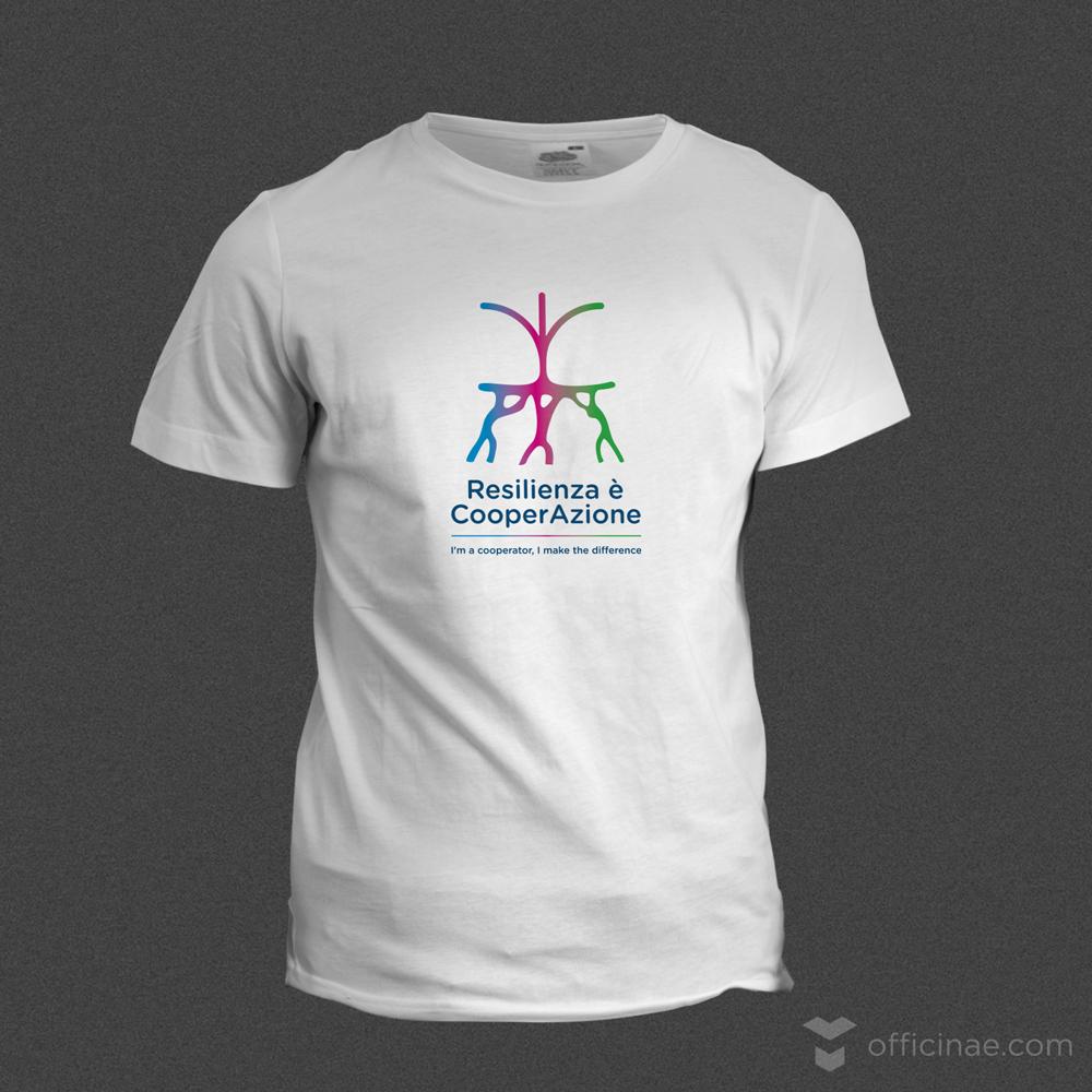 confcooperative officinae agenzia lean digital marketing comunicazione matera milano evento tshirt