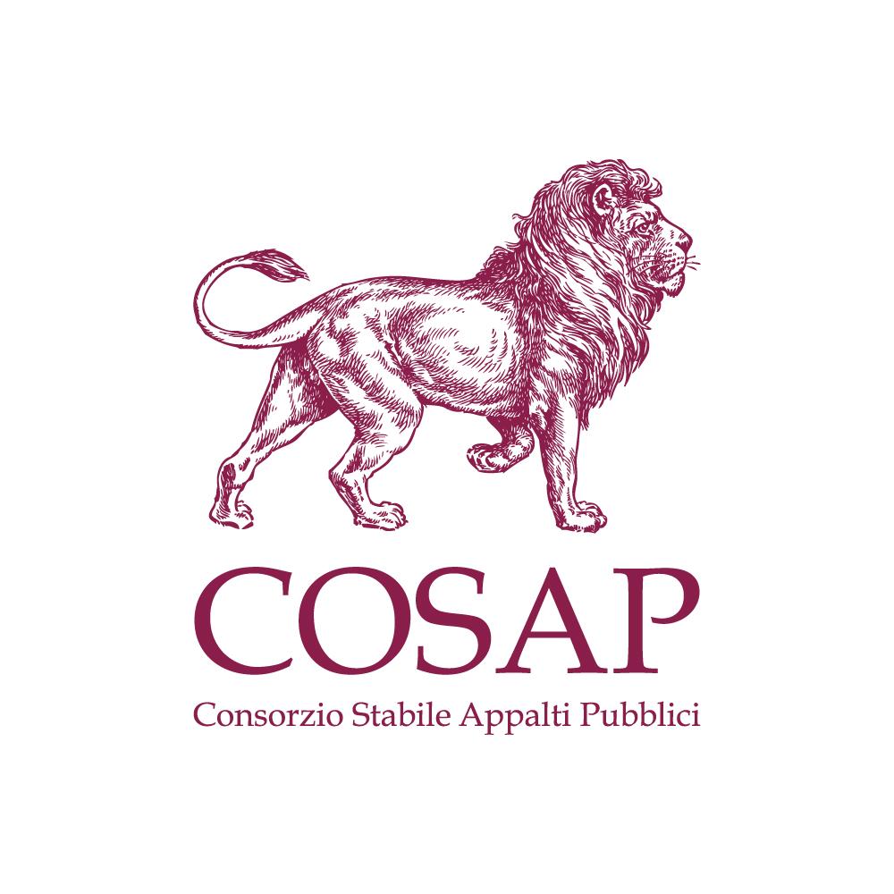 cosap consorzio stabile appalti pubblici officinae agenzia lean digital marketing comunicazione matera milano restyling logo design