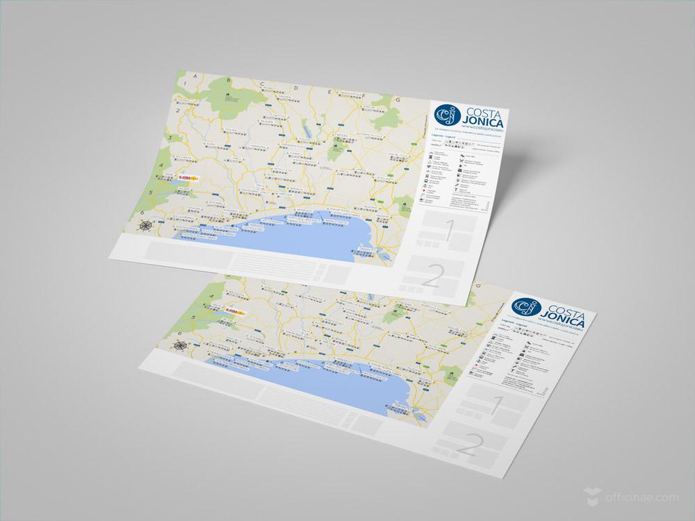 costa jonica promozione turismo officinae agenzia lean digital marketing comunicazione matera milano creazione mappa