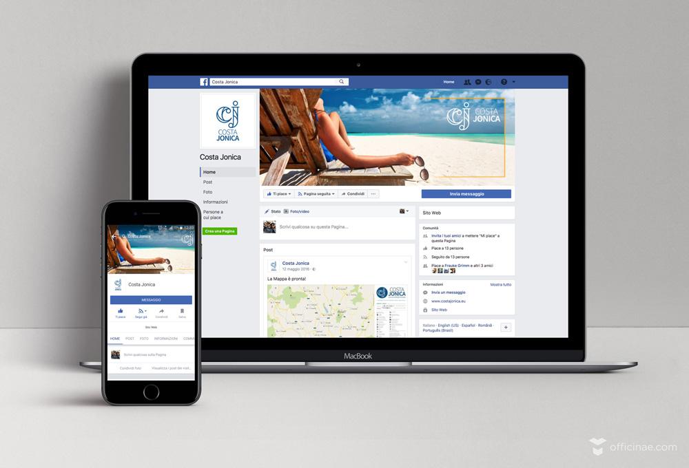 costa jonica promozione turismo officinae agenzia lean digital marketing comunicazione matera milano gestione pagine social