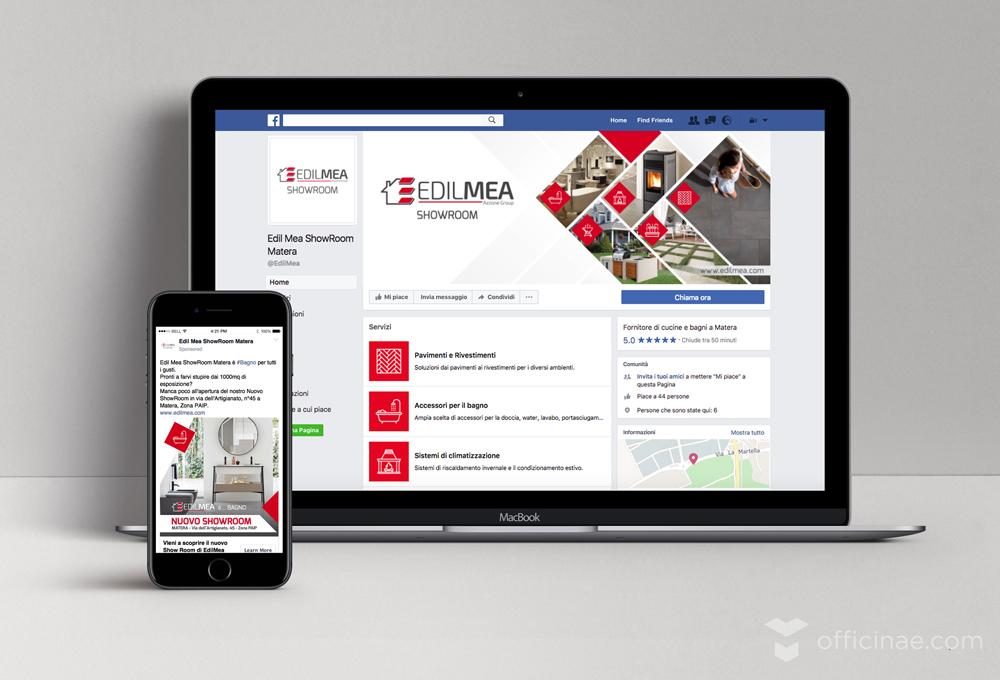 edilmea officinae agenzia lean digital marketing comunicazione matera milano gestione pagina social