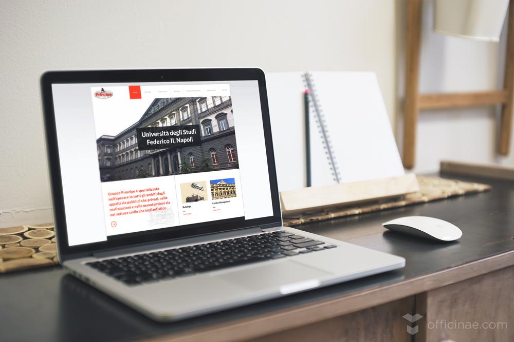 gruppo principe officinae agenzia lean digital marketing comunicazione matera milano sito web responsive