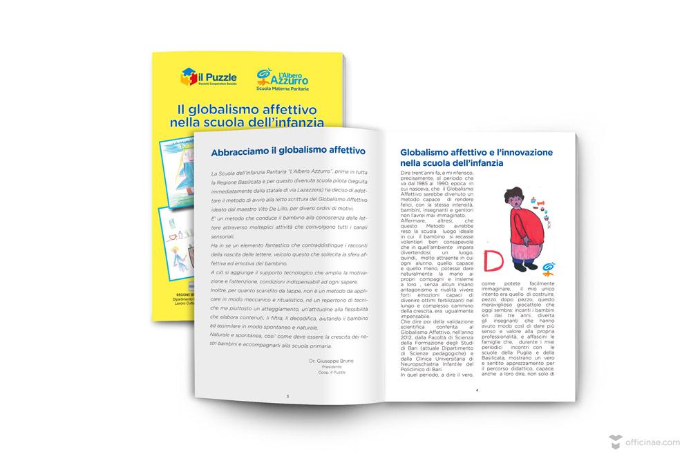 il puzzle officinae agenzia lean digital marketing comunicazione matera milano brochure