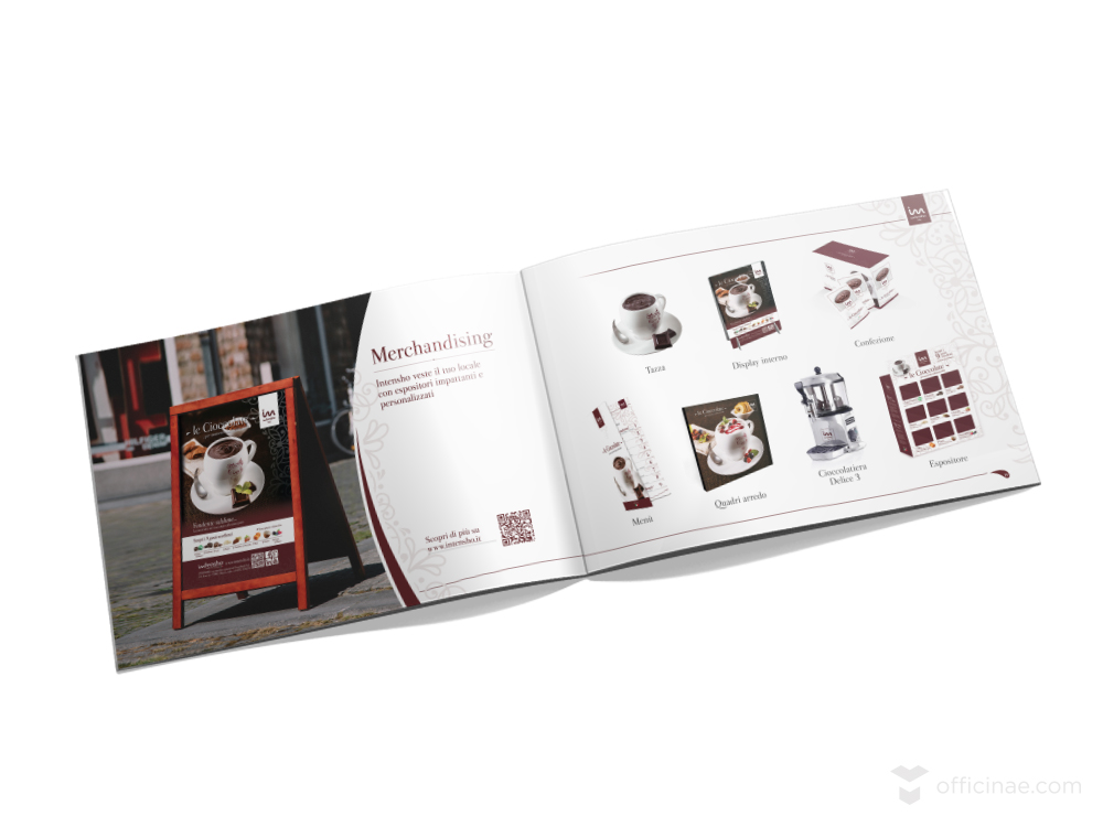 intensho tecnoblend officinae agenzia lean digital marketing comunicazione matera milano brochure a5 5