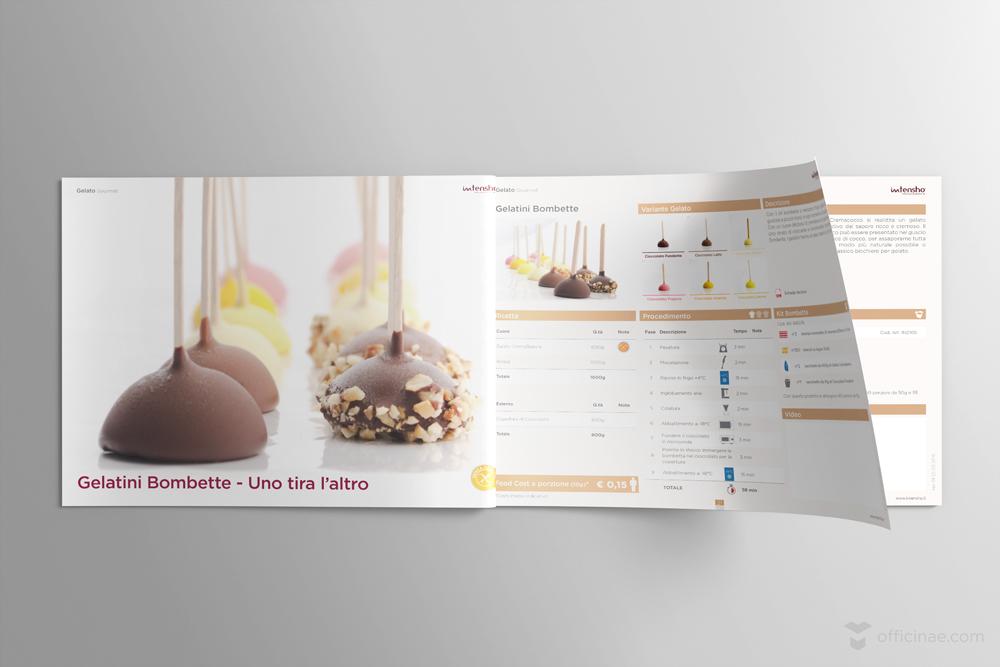 intensho tecnoblend officinae agenzia lean digital marketing comunicazione matera milano ricettario