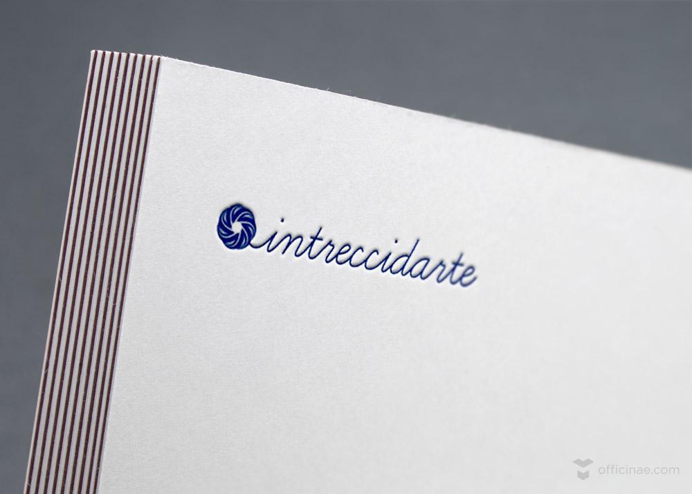 intreccidarte officinae agenzia lean digital marketing comunicazione matera milano creazione logo design