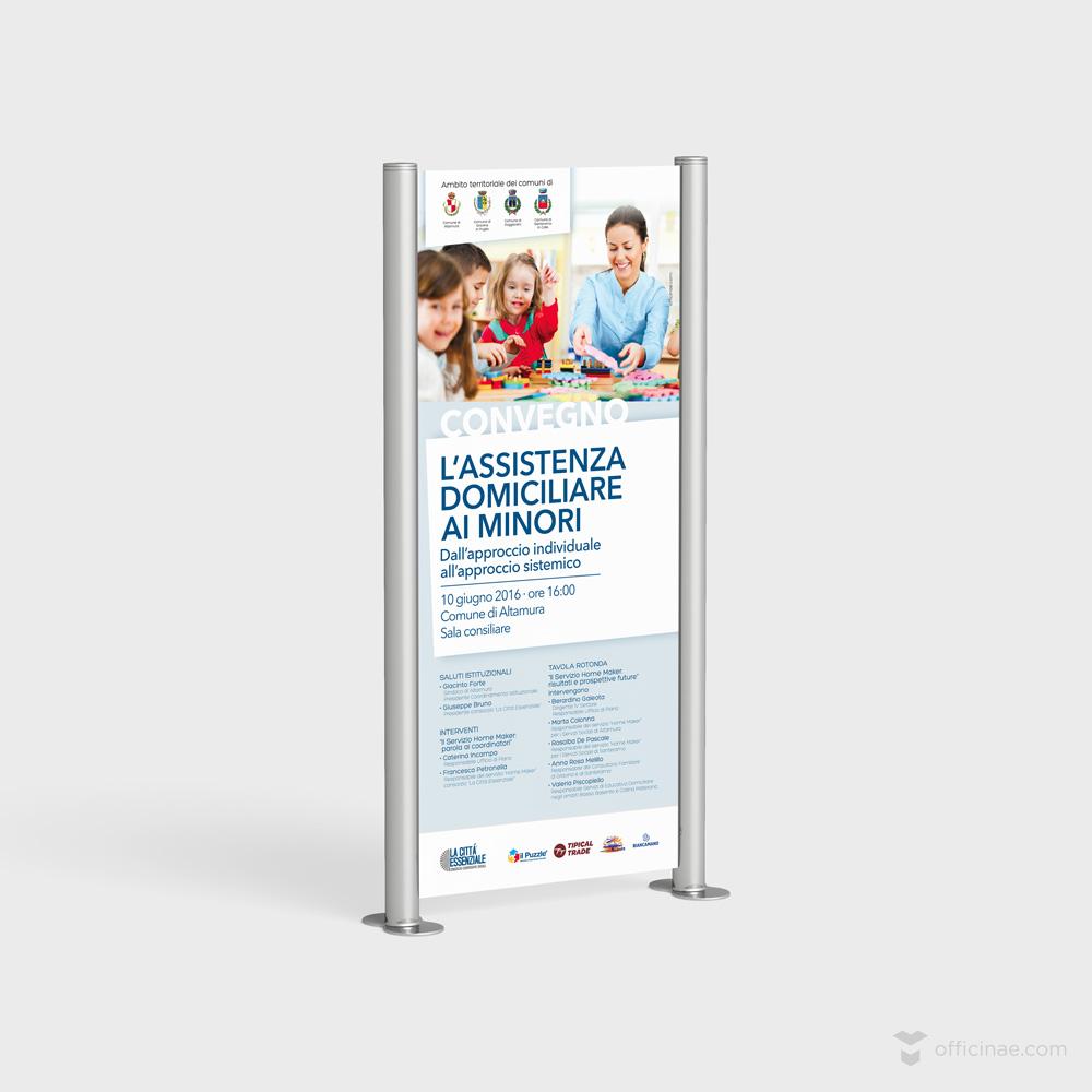 la città essenziale officinae agenzia lean digital marketing comunicazione matera milano locandina