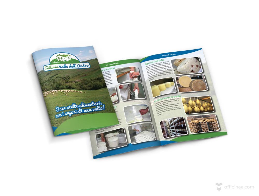 malaspina agriturismo fattoria officinae agenzia lean digital marketing comunicazione matera milano brochure