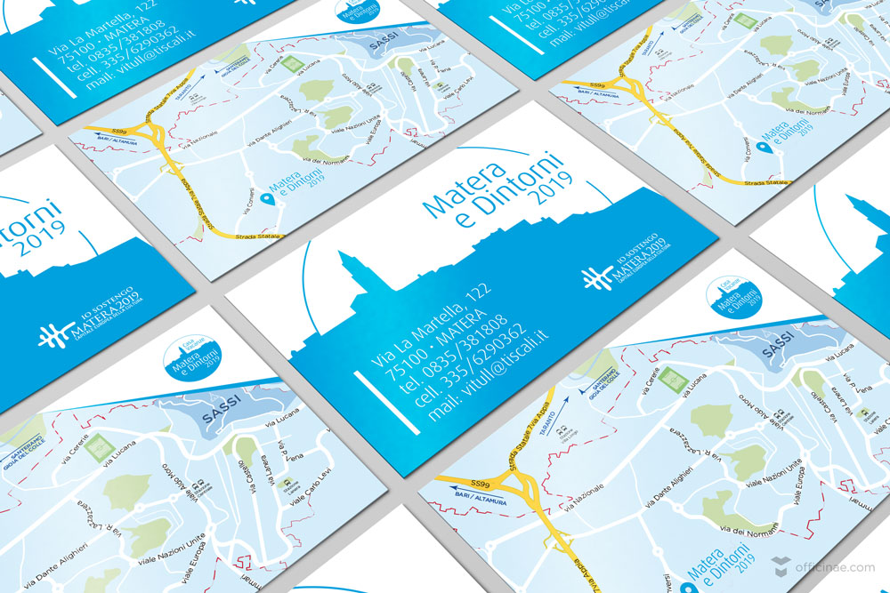matera e dintorni officinae agenzia lean digital marketing comunicazione matera milano bigliettino da visita