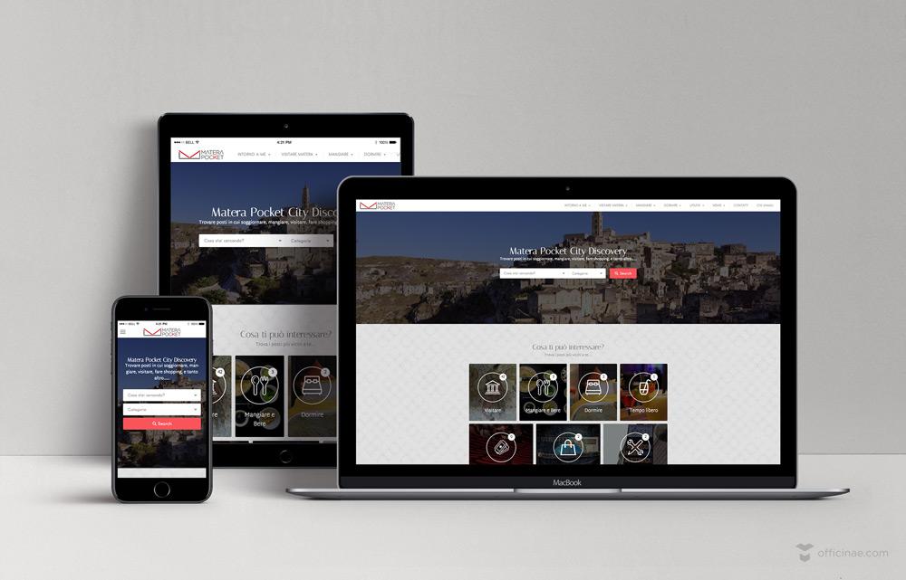 matera pocket officinae agenzia lean digital marketing comunicazione matera milano sito web responsive