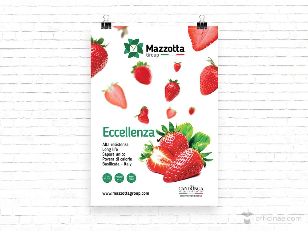 mazzotta group azienda agricola officinae agenzia lean digital marketing comunicazione matera milano manifesto locandina