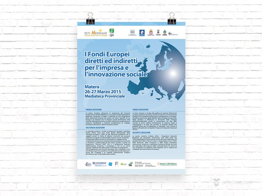 mediateca provinciale officinae agenzia lean digital marketing comunicazione matera milano manifesto locandina