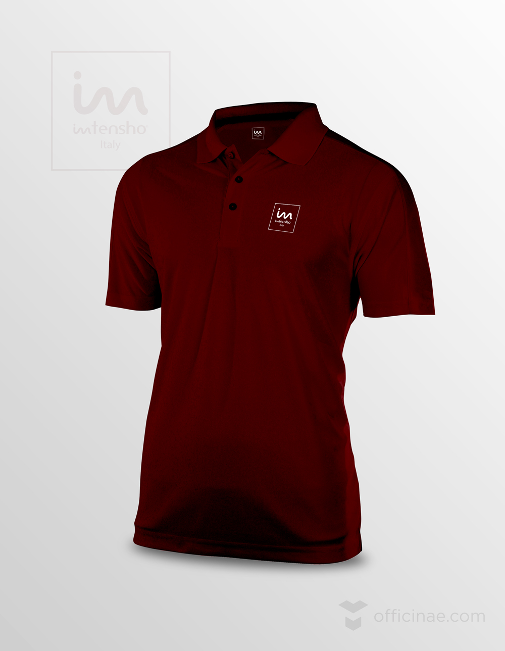 ntensho tecnoblend officinae agenzia lean digital marketing comunicazione matera milano tshirt con logo