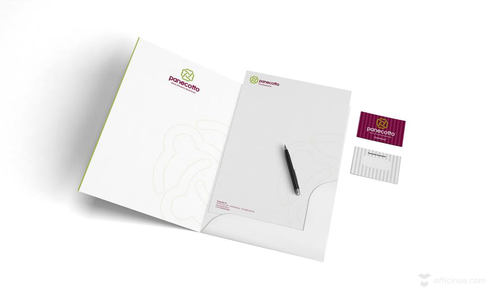 panecotto ristorante officinae agenzia lean digital marketing comunicazione matera milano carta intestata fidelity card