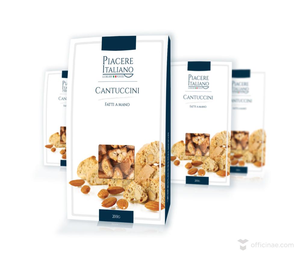 piacere italiano officinae agenzia lean digital marketing comunicazione matera milano packaging biscotti