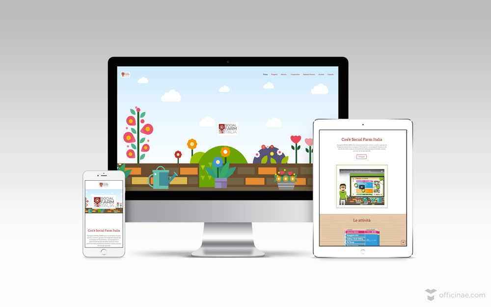 social farm officinae agenzia lean digital marketing comunicazione matera milano sito web responsive