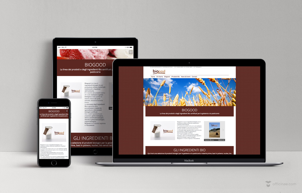tecnoblend biogood officinae agenzia lean digital marketing comunicazione matera milano sito web responsive