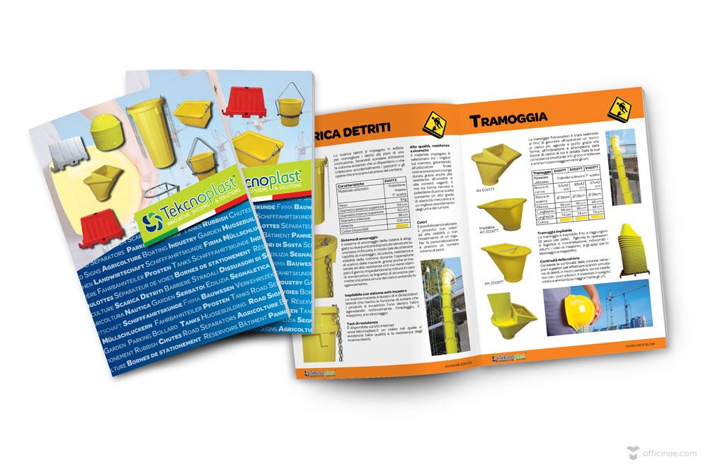 tekcnoplast officinae agenzia lean digital marketing comunicazione matera milano catalogo prodotti