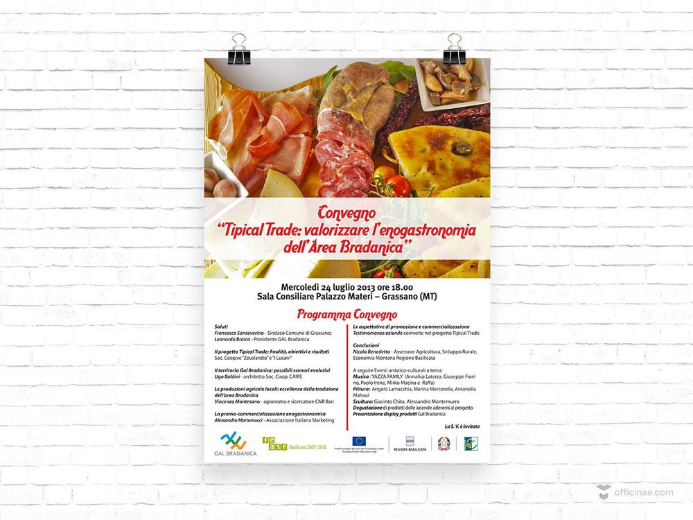 tipical trade servizi sociali officinae agenzia lean digital marketing comunicazione matera milano locandina manifesto