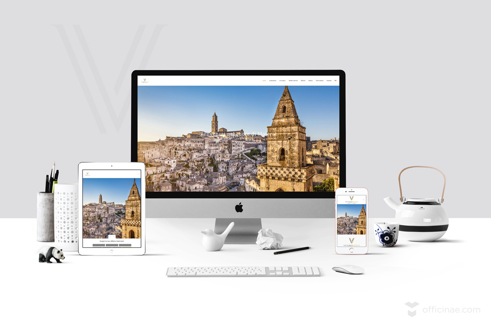vittorio veneto luxury room affittacamere officinae agenzia lean digital marketing comunicazione matera milano sito web responsive