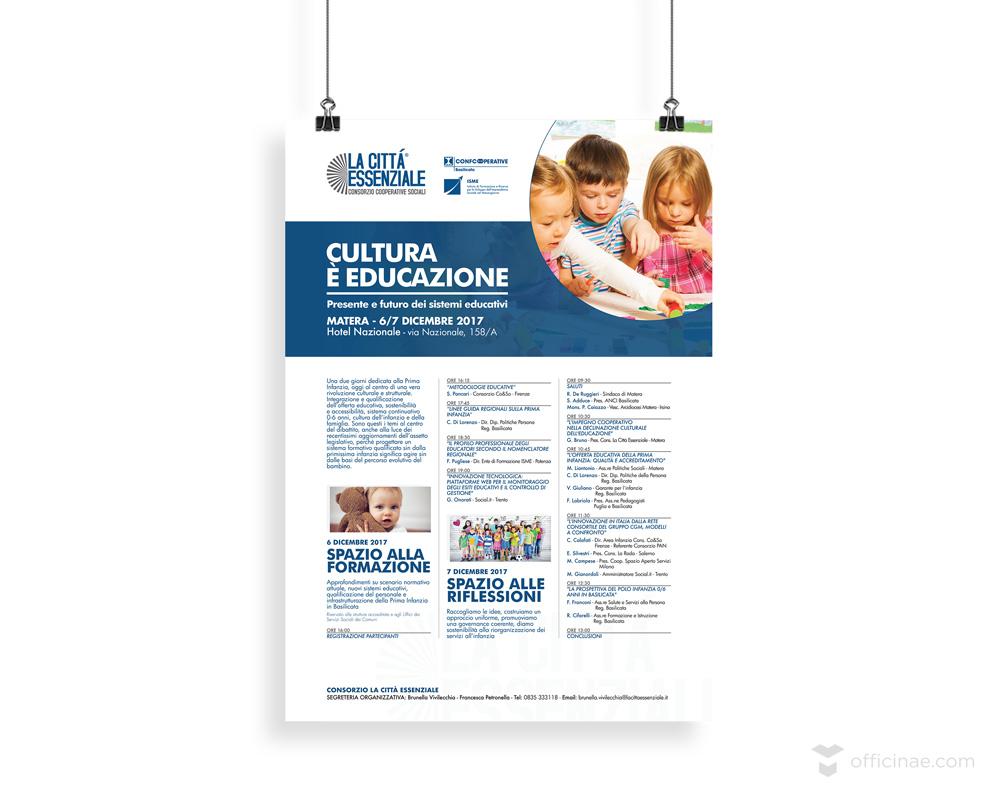 Cultura-è-La-Città-Essenziale officinae-agenzia-lean-digital-marketing-management-campagne-social-comunicazione-school-formazione-matera-milano