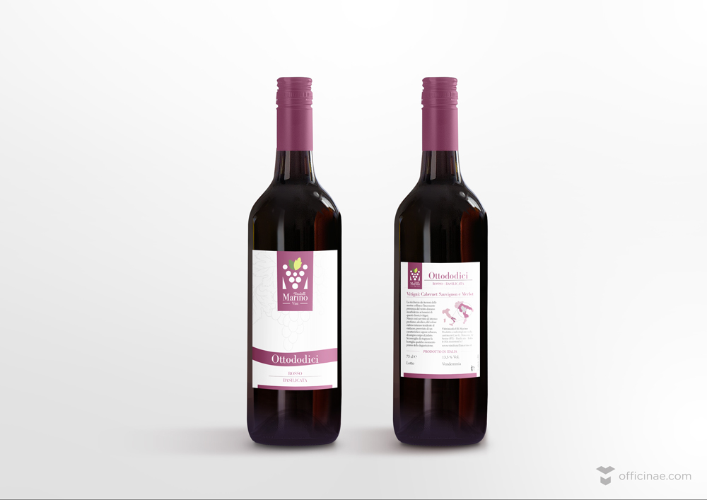 Etichette-Marino-Vini officinae-agenzia-lean-digital-marketing-management-campagne-social-comunicazione-school-formazione-matera-milano
