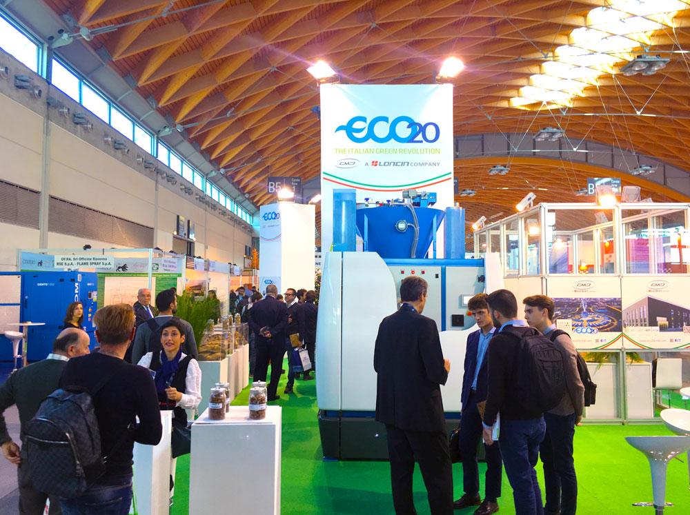 ecomondo-keyenergy-2017-rimini-cmd-eco-20-microgeneratore-pirogassificazione-cogeneratore-biomasse-syngas-cmd-engine-basilicata-campania