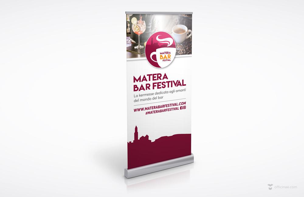 Roll-up-2x1m-mockup-Matera-Bar-Festival evento formazione barman amari caffe cocktail gravina altamura basilicata puglia