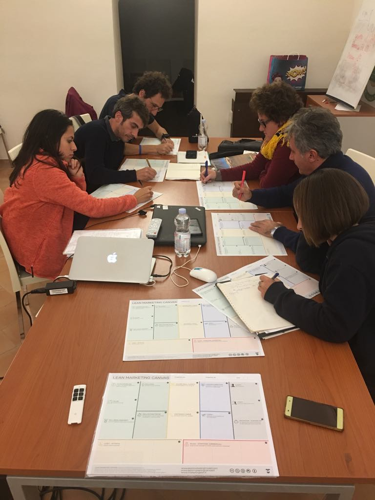corso workshop masterclass guide ambientali escursionistiche officinae lean digital marketing canvas comunicazione matera basilicata puglia 2