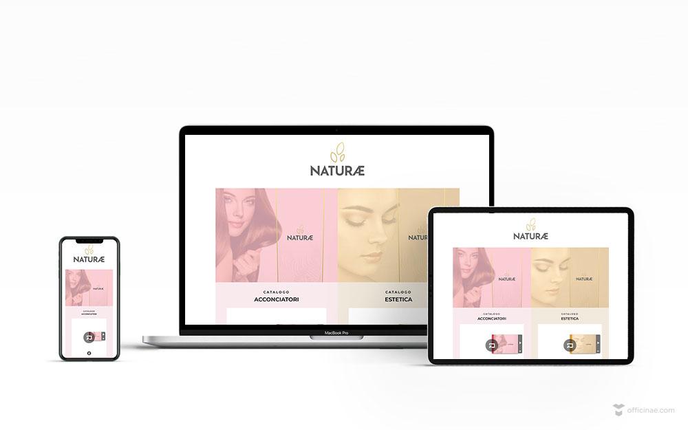 mockup-sito-web-naturae-cosmetic-officinae-agenzia-lean-digital-marketing-management-comunicazione-school-scuola-formazione-matera-basilicata-milano