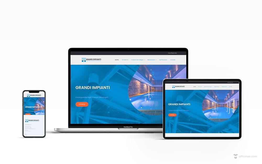 mockup-sito-web-grandi-impianti-officinae-agenzia-lean-digital-marketing-management-comunicazione-school-scuola-formazione-matera-basilicata-milano